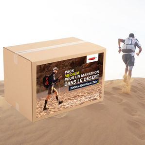 Pack Marathon dans le desert - Medium