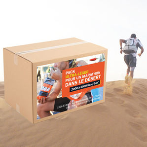 Pack Marathon dans le desert - Ultra-light