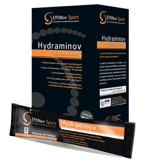 Hydraminov - Boisson de l´effort Effinov x 10 sticks - Neutre