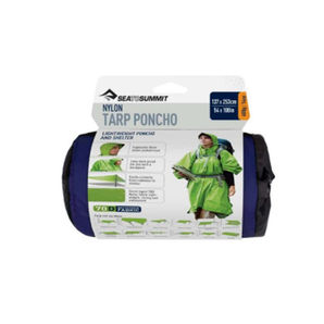Poncho et tarp nylon Sea to Summit - Bleu
